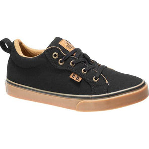 Women's Torland Black Canvas Sneakers D84434
