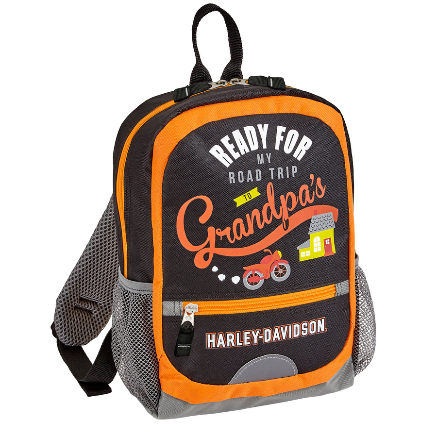 "Harley-Davidson ""Going To Grandpa's"" Backpack 99843"