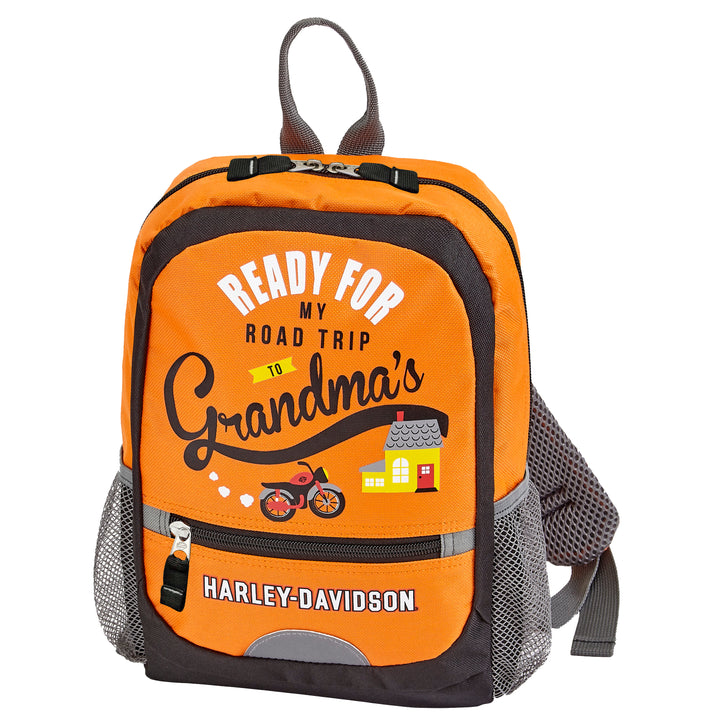"Harley-Davidson ""Going To Grandma's"" Backpack 99843"