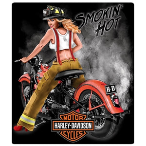 Smokin' Hot Tin Sign