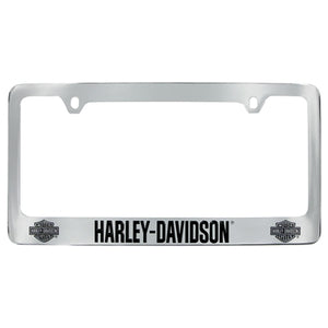 Harley-Davidson Bar & Shield License Frame