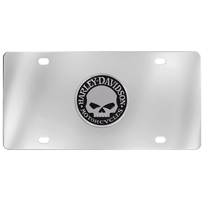 Willie G. Skull- License Plate