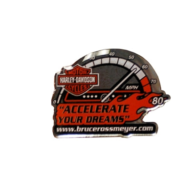 Accelerate Your Dreams Custom Pin