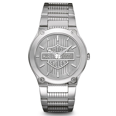Stainless Steel H-D Men's Watch