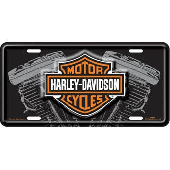 V-Twin Stamped- License Plate