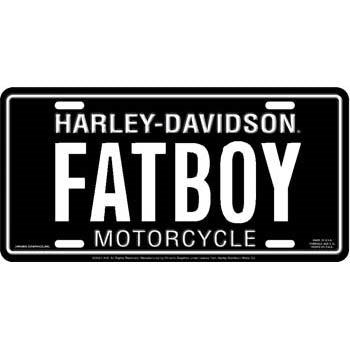 Fat Boy- License Plate