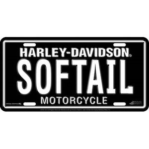Softail- License Plate