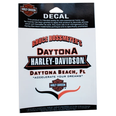 Daytona H-D Accelerate Your Dreams Decal