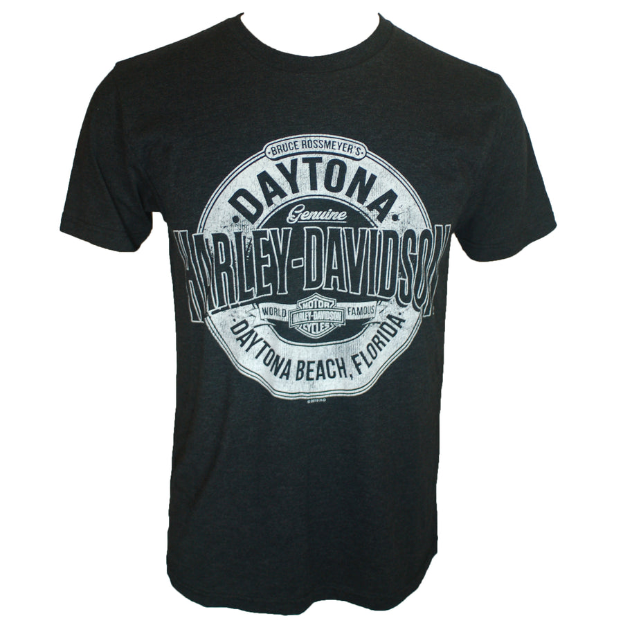 Daytona Crusader Black S/S Custom Dealer Tee
