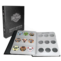 Harley-Davidson 54 Poker Chip Album