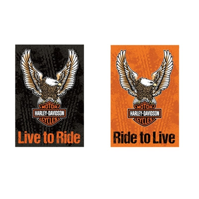 Eagle Live to Ride Garden Flag 14S4907FB