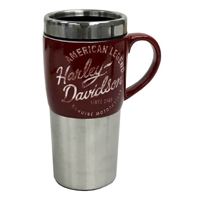 Heritage Ceramic and Stainless Steel Travel Travel Mug