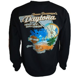 Custom B&S Logo Men's L/S Sweat Shirt