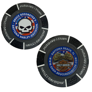Online Exclusive Daytona Harley-Davidson Poker Chip