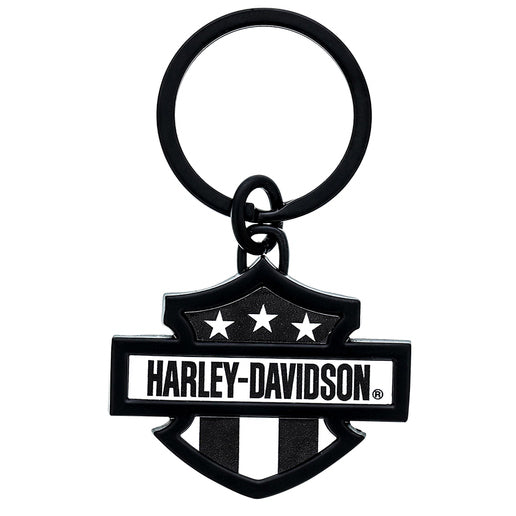 Black and White Key Chain HDK12-403