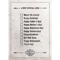 H-D Very Special Card for All Occasions HDL-20039