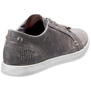 Men's Yorkton Casual Gray Leather Sneakers D96206