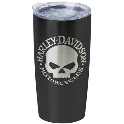 Core Willie G Skull Stainless Steel Travel Mug HDX-98618