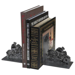 Hill Climber Graphic B&S Stainless Steel Bookends HDX-99184
