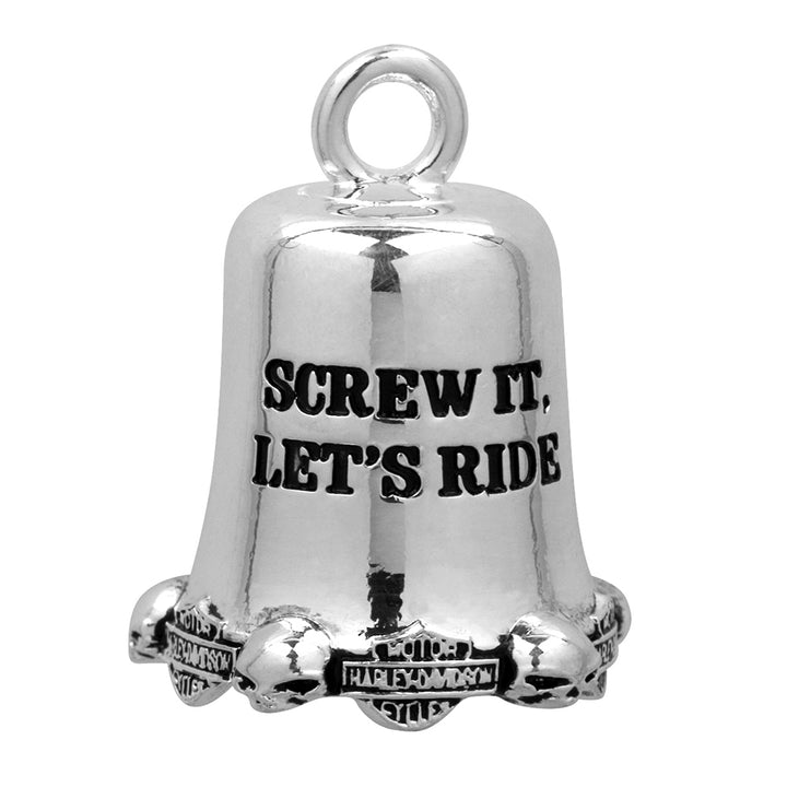 Screw It Lets Ride Bar & Shield Ride Bell HRB002