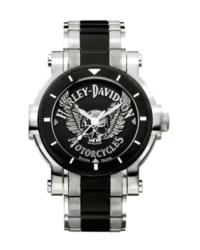 Men's Bulova Winged Skull Watch 78A109