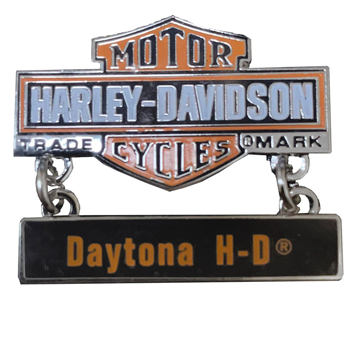Harley-Davidson Daytona Trademark B&S Custom Pin 8008956