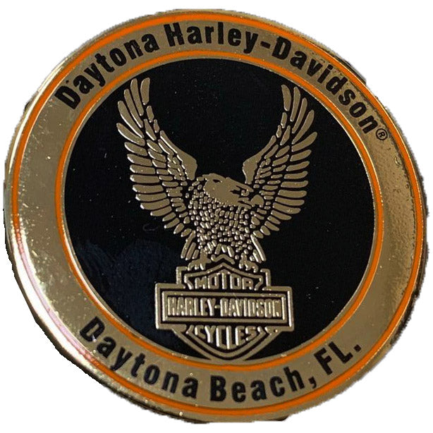 Harley-Davidson Custom Up-Wing Daytona Pin 8008949