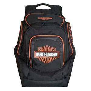 Deluxe Orange B&S Backpack