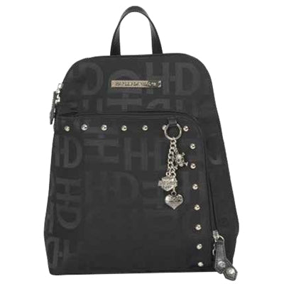 Black H-D Jacquard Backpack