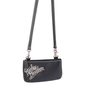 Women's Cream Embroidered- Hip Bag