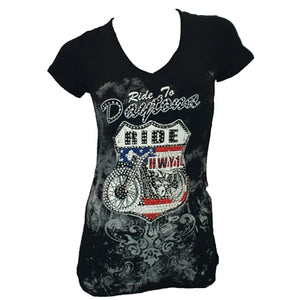 Liberty Wear Custom Ride to Daytona S/S Tee