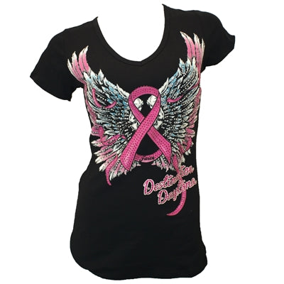 Liberty Wear Custom Faith Hope Fearless Ladies Tee
