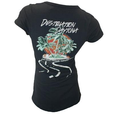 Liberty Wear Custom Palm Tree Ladies S/S Tee