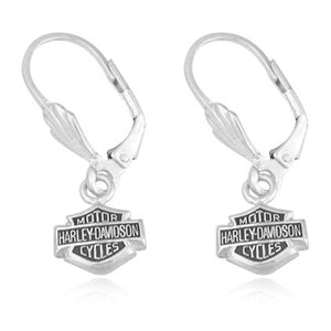 Bar & Shield Hook Earrings