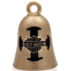 B&S Cross Gold Tone Ride Bell