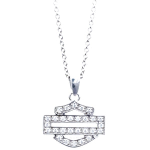 H-D Bling B&S Outline Necklace