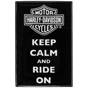Keep Calm and Ride On Pin