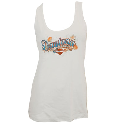 Daytona Custom Shells White Tank