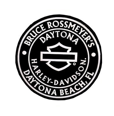 Bruce Rossmeyer's Daytona Harley-Davidson Custom Outlined B&S Dealer Pin