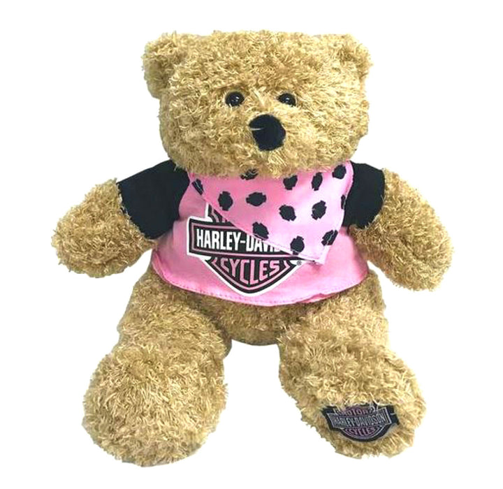"Harley-Davidson ""Babe"" Huggy Stuffed Plush Bear 9900851"