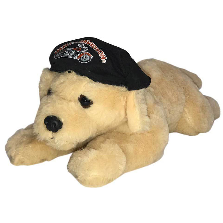 "Harley-Davidson ""Freedom"" Retriever Cuddle Bud Dog 9950857"