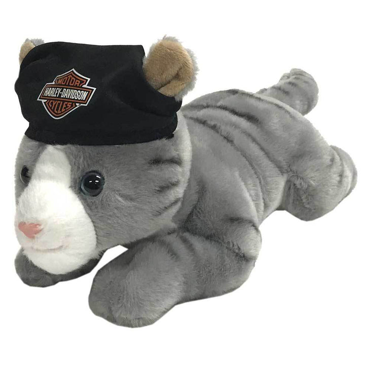 "Harley-Davidson ""Steel"" Cool Cat Plush Cuddle Bud 9950859"