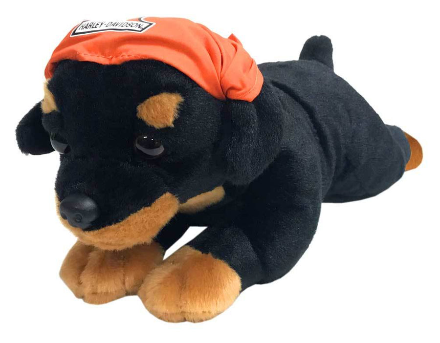 Harley-Davidson Rebel Rottweiler Cuddle Bud Dog 9950853