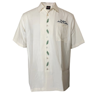 Men's Cream Tori Richard Custom Silk & Cotton Button-Up