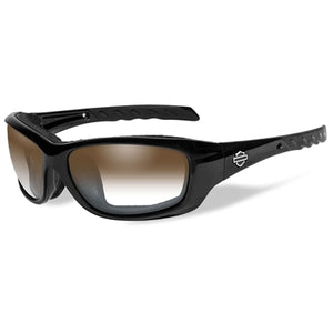 Gravity Light Adjusting Copper Lenses / Gloss Black Frame