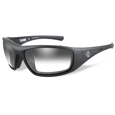 Tank Light Adjusting Smoke Grey Lenses / Matte Black Frame