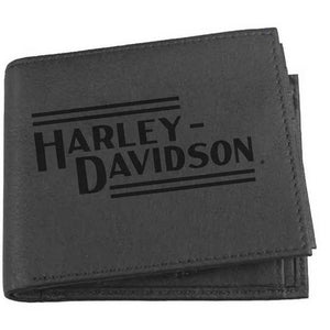 Mens Currency & Coin Leather Billfold Wallet IM2139L