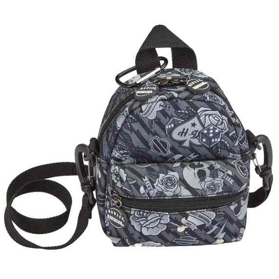 Mini-Me Backpack Collection Gray Tattoo 99668/GRYTAT