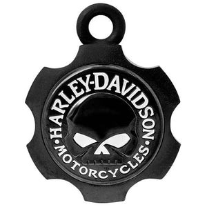 Axel Shape Willie G Skull Ride Bell HRB099