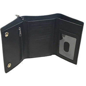Men's B&S Embossed Trucker Tri-Fold Plus Wallet XML3514